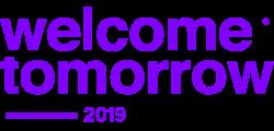 WELCOME TOMORROW 2019