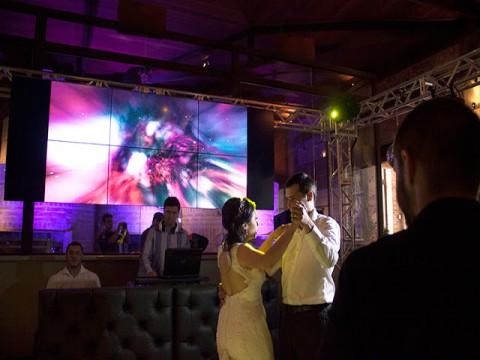 Video Wall para Casamento e a Importância de Som e Luz